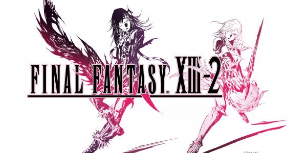 Final Fantasy XIII-2 Logo White