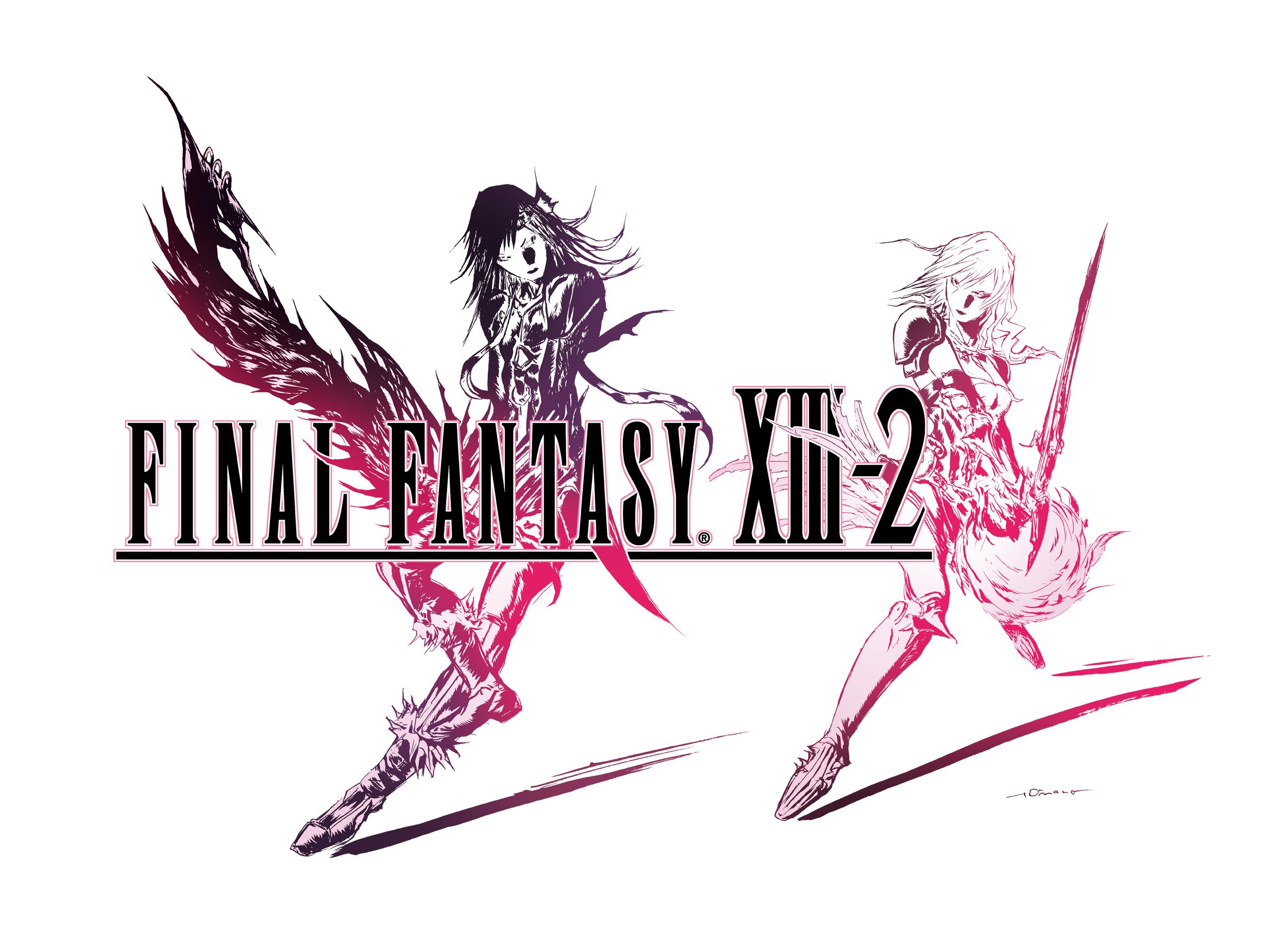 Final Fantasy XIII-2 Logo White