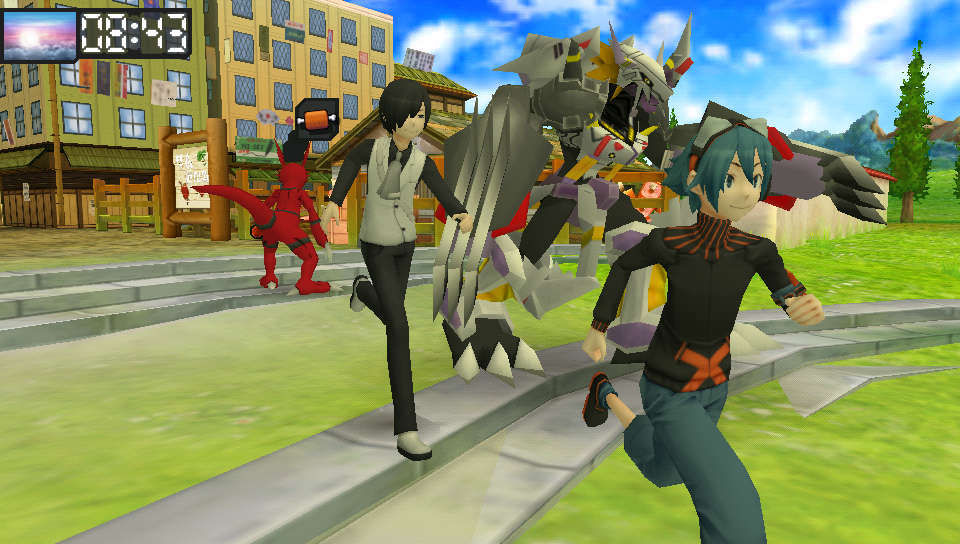 Digimon world re digitize conga line