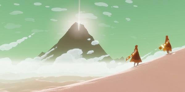 Journey game mountain