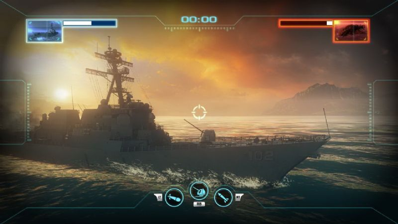Original Xbox Game Ship : Battleship quot two games in one trailer · levelsave