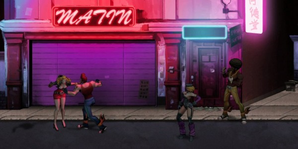 Double Dragon Neon 1