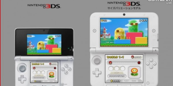 3ds xNintendo 3ds XL screenshot mario