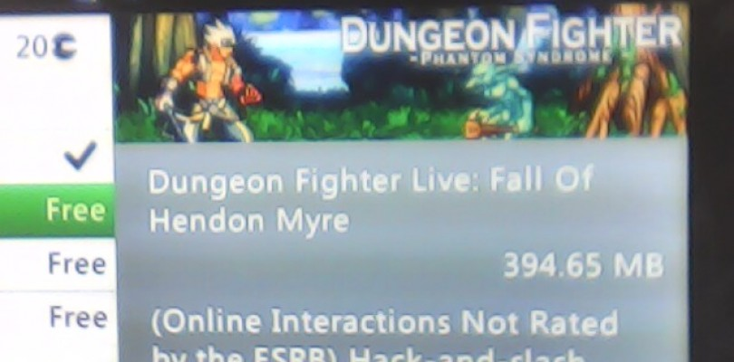 Dungeon Fighter Live's First DLC To Be Called Phantom Syndrome, According to Leak