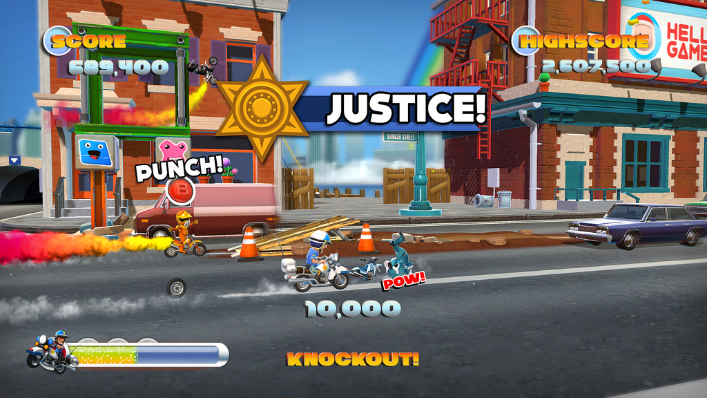Joe danger 2 justice