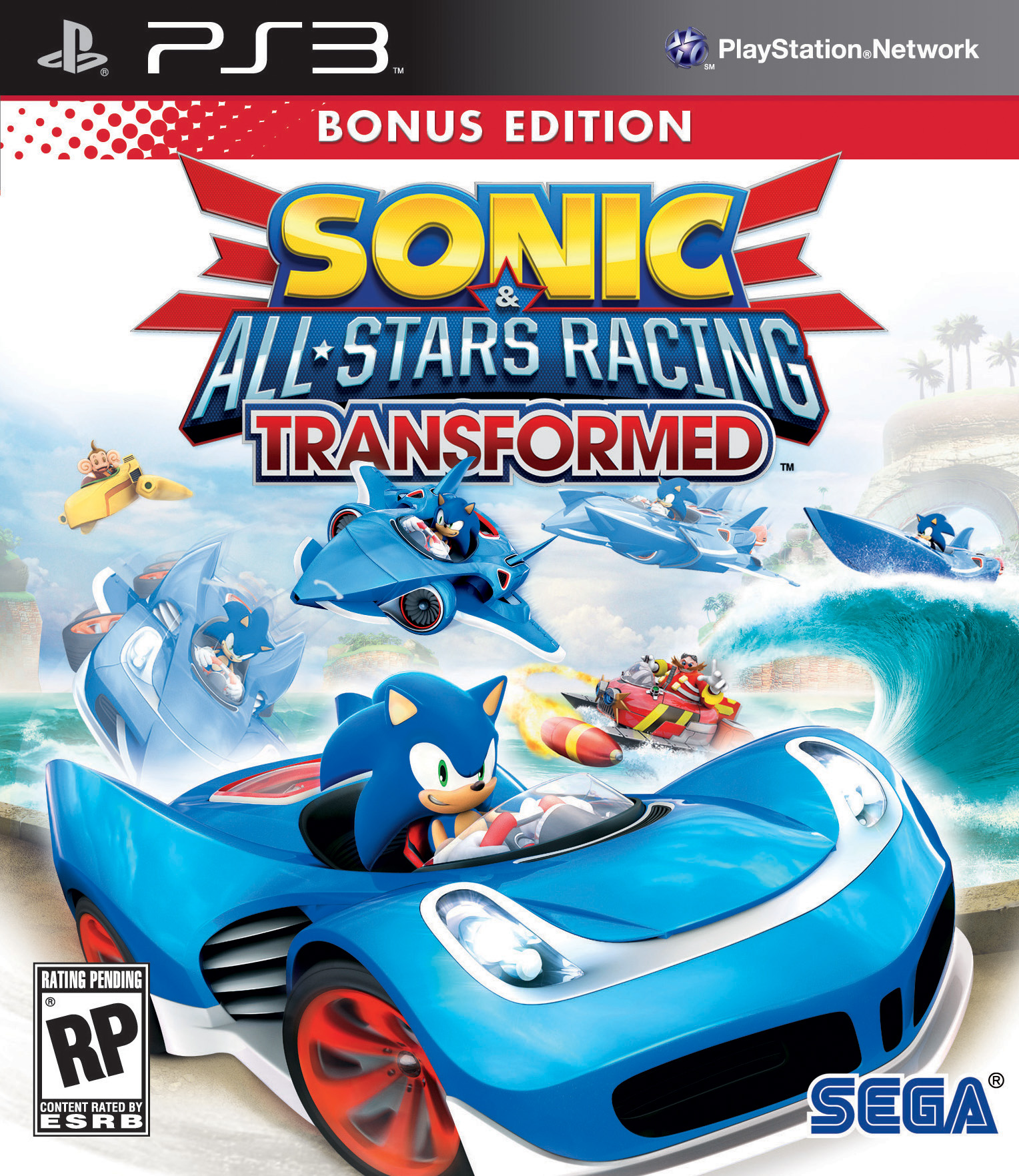 download Sonic & All-Stars Racing Transformed PS3