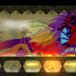 Guacamelee 2 player sleeping monster closeup