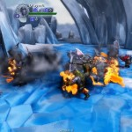 Orc attack fire ice level
