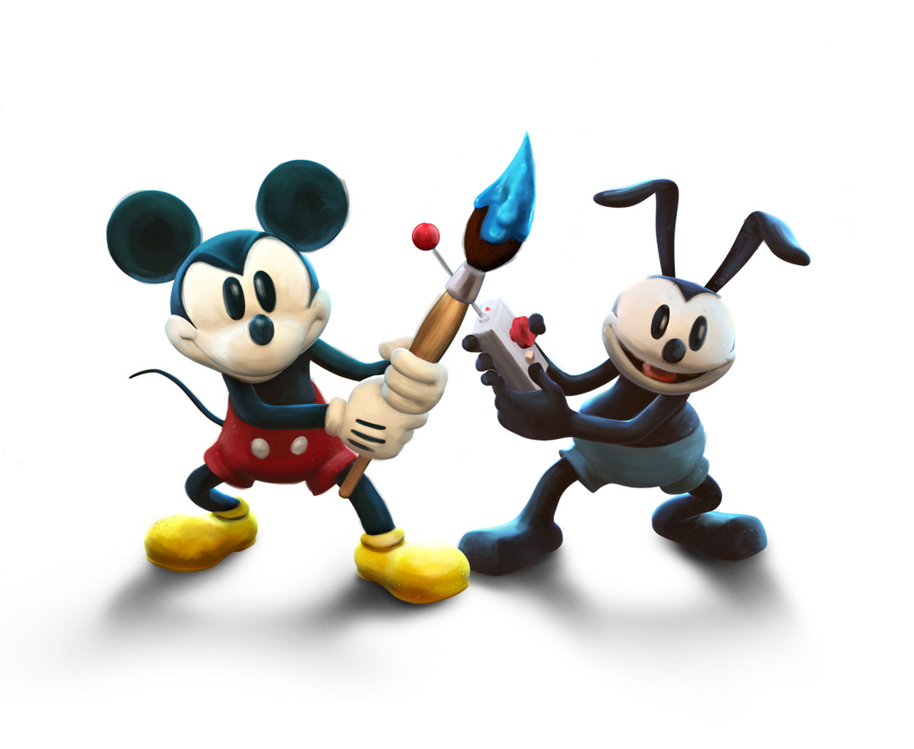 Pax Hands On With Epic Mickey 2 The Power Of Two Oh Boy on Helicopter Clip Art