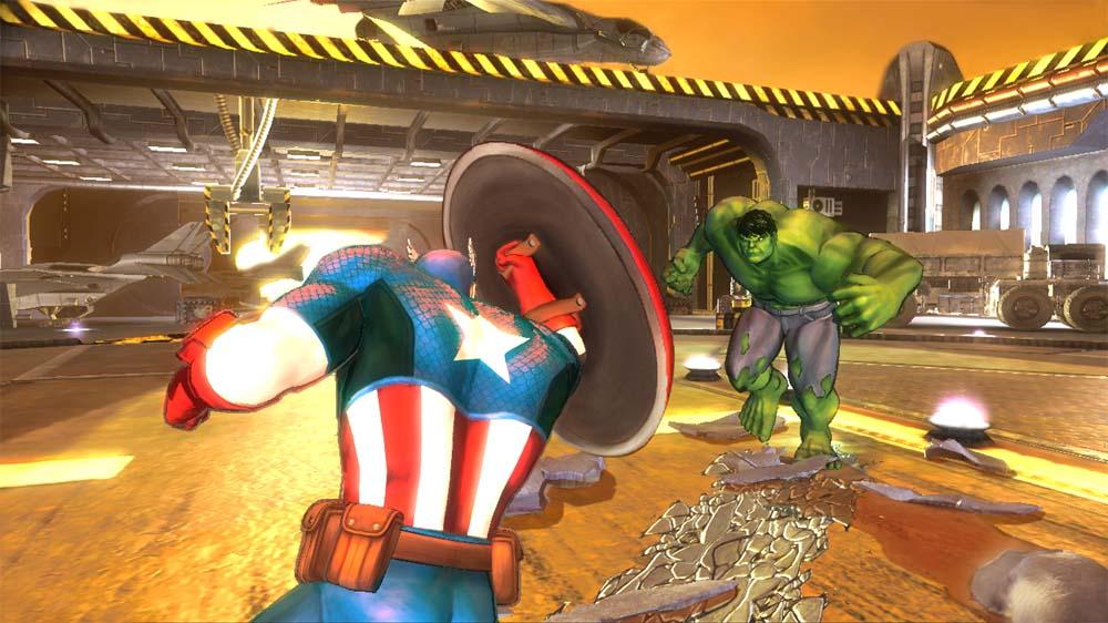 marvel avengers kinect capt_vs_hulk