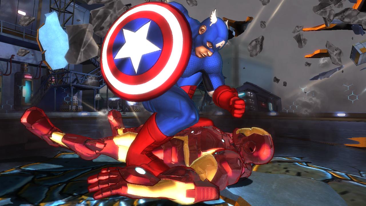 marvel avengers kinect ironman