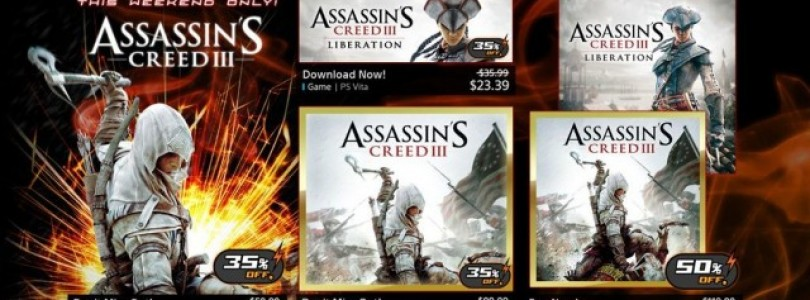 Huge Assassins Creed Sale This Weekend Only On PSN
