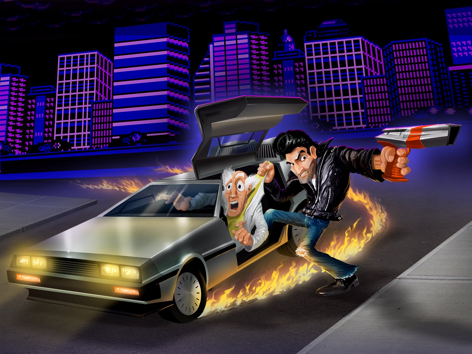Retro City Rampage - DeLorean