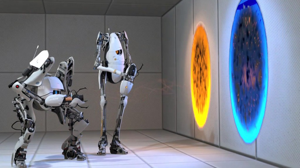 Portal 2 has great play mechanics and writing that is astonishingly good to create a brilliant narrative.