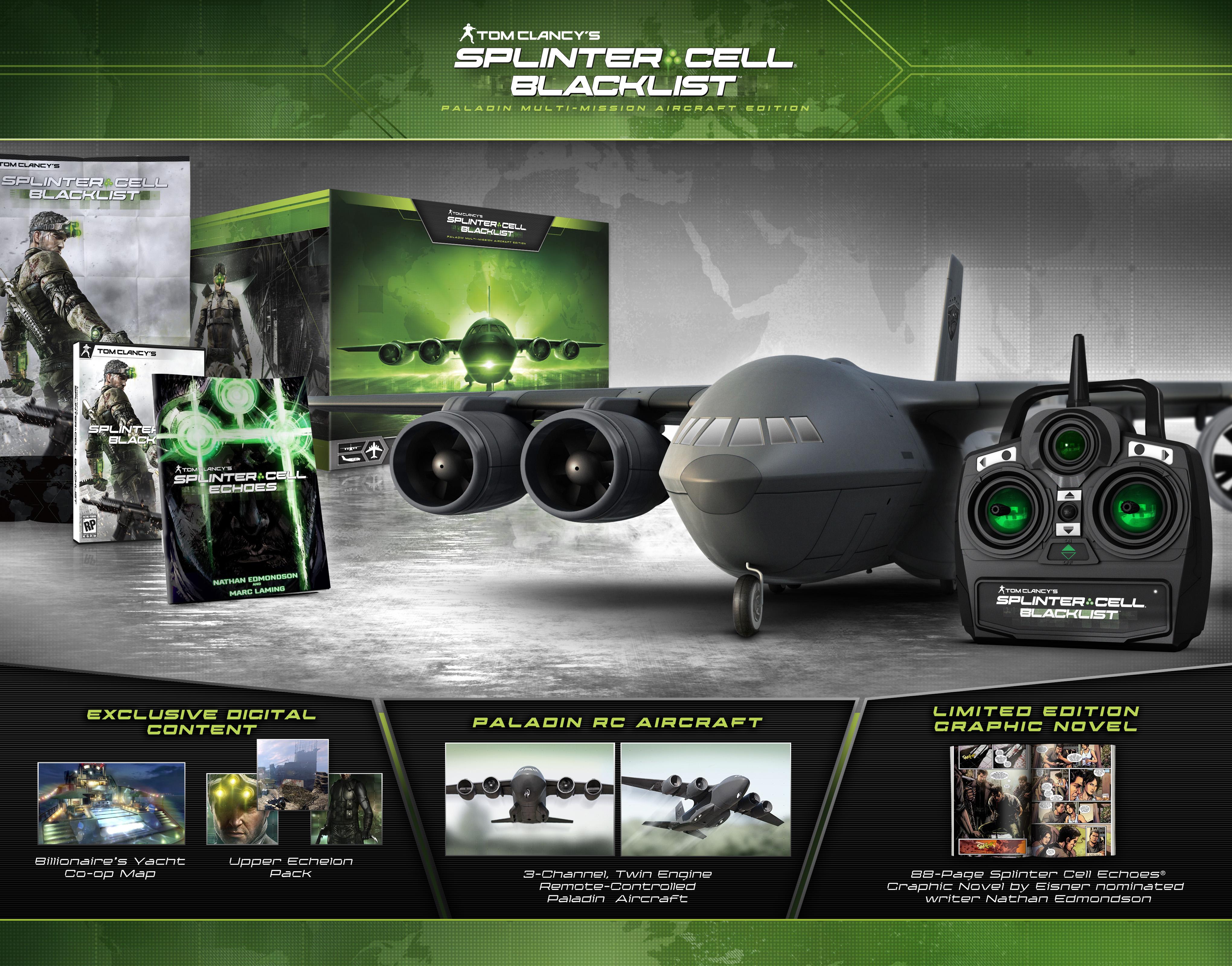 Splinter cell Blacklist L Paladin CE