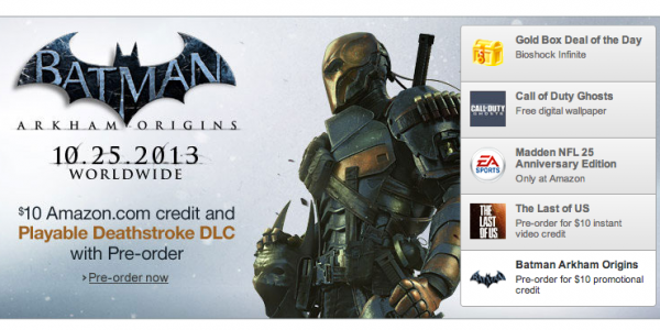 Batman Arkham Origins Deathstroke DLC