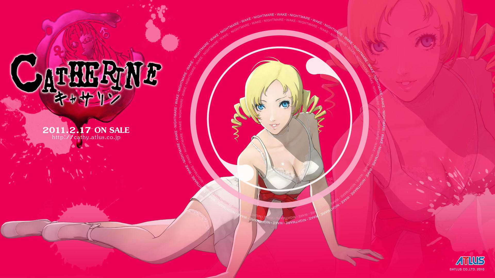 Blonde Catherine Atlus Game