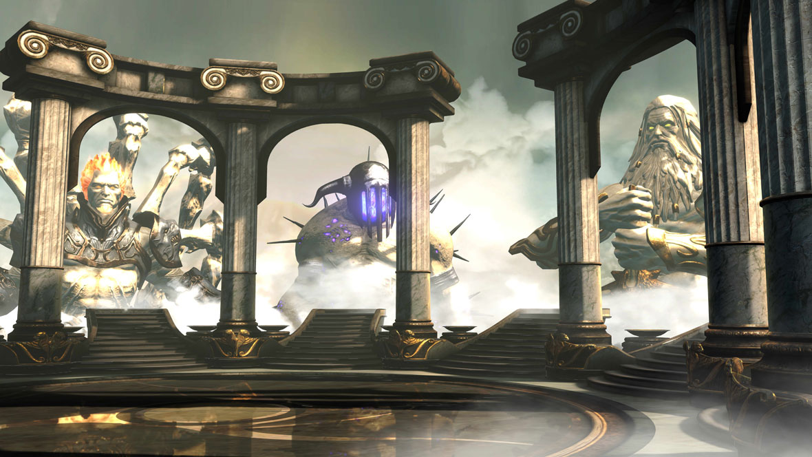 Review god of war ascension kratos is back but is he for God of war 3 jardines del olimpo