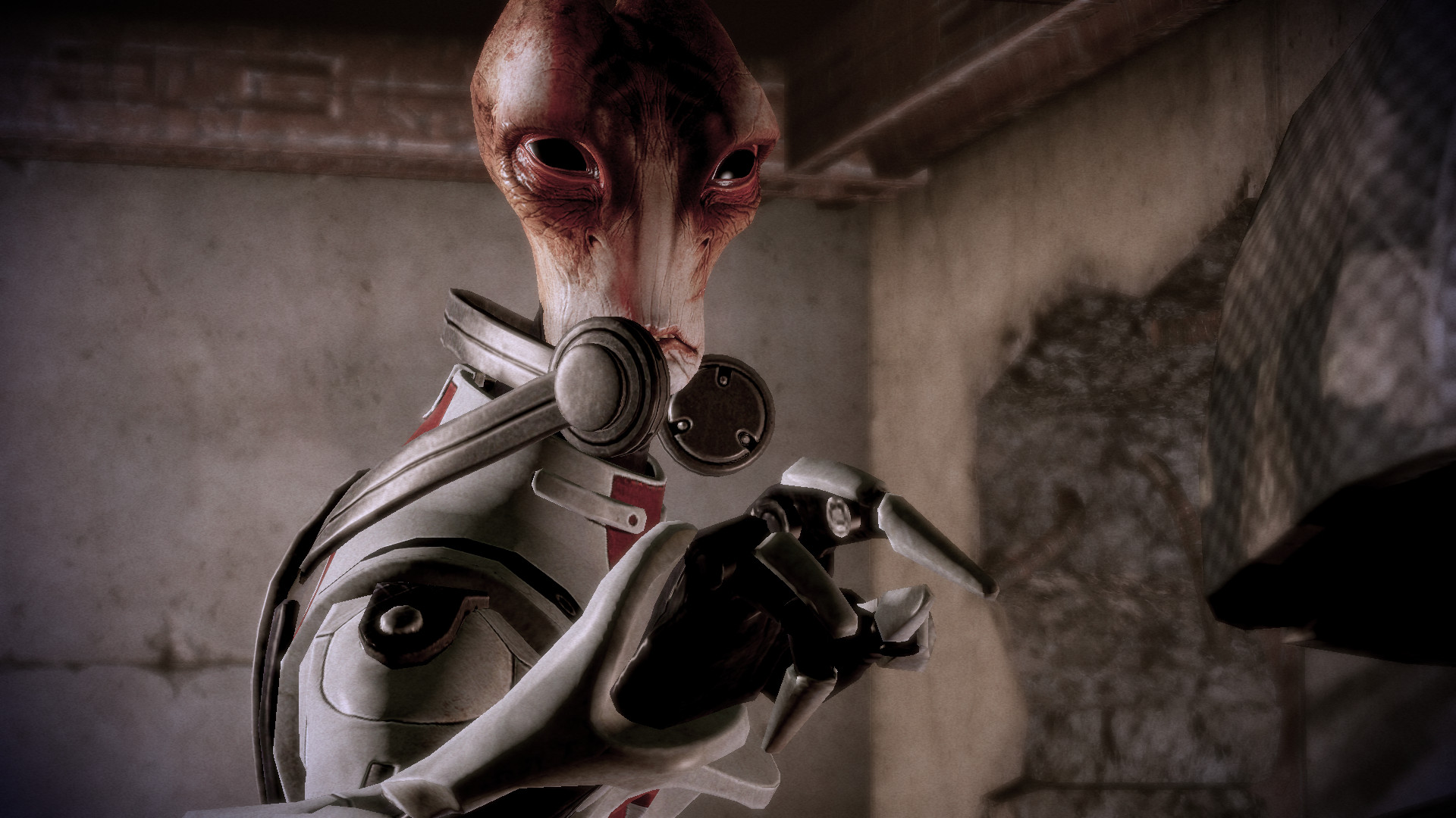 Top 10 Mass Effect Comrades Mordin