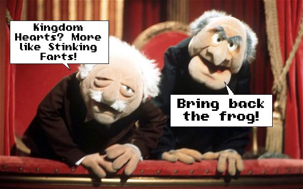 muppets Kingdom Hearts old men