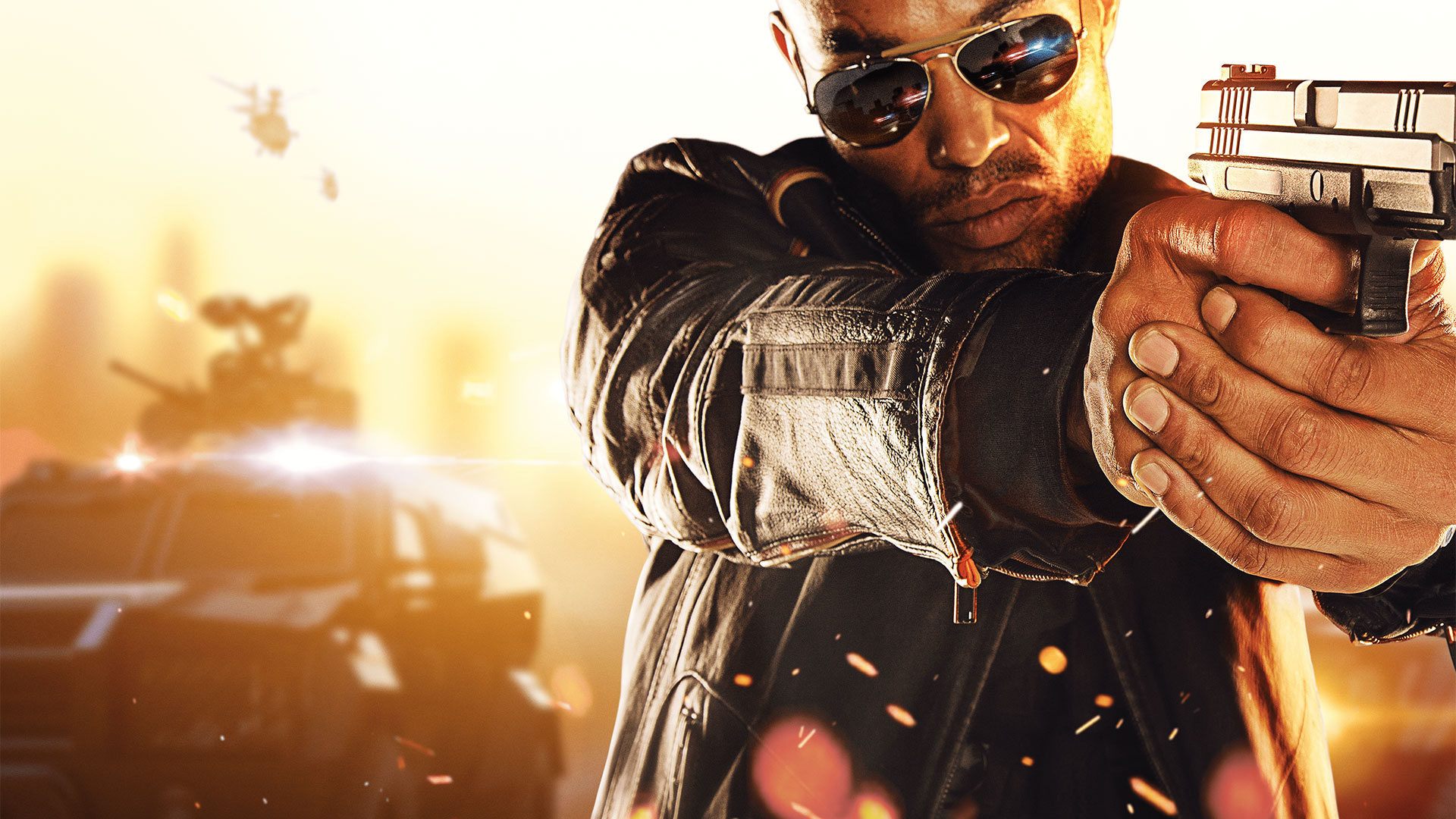 Battlefield Hardline guy